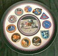 "Vintage Texas-Ware Space Conquest Apollo 10"" Melamine Plate"