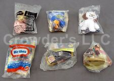 Set of 6 Unopened Burger King Toys: Racecar, Goofy, Star Wars, Wallace & Gromit