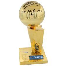 "DIRK NOWITZKI Autographed ""2011 Finals MVP"" Larry O'Brien Trophy FANATICS"