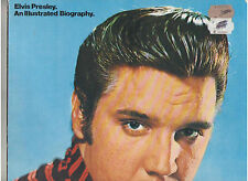 ELVIS PRESLEY AN ILLUSTRATED BIOGRAPHY LP-SIZE SOFT COVER BOOK 1979 OUT OF PRINT