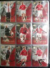 Upper Deck Manchester United LEGENDS Complete 90 Card Set