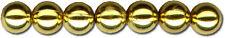 Bijouterie Wachsperlen 3mm 125 Stück gold wax beads 103-16