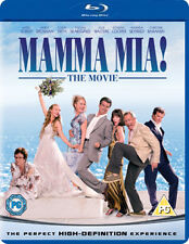 MAMMA MIA - THE MOVIE - BLU-RAY - REGION B UK