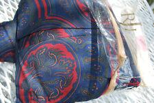 Ralph Lauren Mlbrk Paisley Burgundy King Bed Skirt New $150