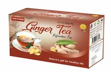 Ginger Tea, Authentic Aroma and Health benefits, 60 Teabags,3 Boxes,120 Grams