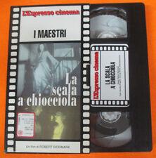 VHS film LA SCALA A CHIOCCIOLA Robert Siodmark L'ESPRESSO I MAESTRI(F188) no dvd