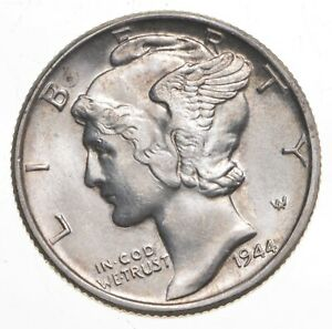 CH Unc 1944 Mercury Liberty Dime - 90% Silver - From an Original Roll! *218