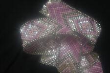 RUBAN Strass et perle Bordure hotfix   DIY 12