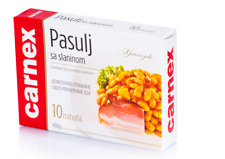 Carnex Bohnen mit Speck, Pasulj sa slaninom 400g