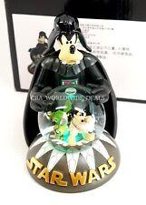 NEW Disney Parks Star Wars Goofy, Mickey Mouse & Stitch Light Up Snow Globe