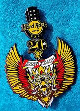 BALI HOTEL 20TH ANNIVERSARY BALINESE DEITY GARUDA BIRD GUITAR Hard Rock Cafe PIN