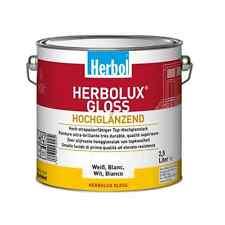Herbol Herbolux Gloss Top Hochglanzlack weiß 2 5l / L 21 98