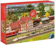 """Faller HO 190288 Aktions-Set """"Bahnhof Weidenbach"""" #NEU in OVP#"""