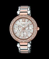 She-3061spg-7a Sheen Casio Lady Watches Analog Steel Band