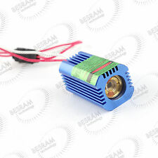 532nm 50mW Green DOT Laser Diode Module for Locating with 12VDC Glass Lens