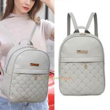 Women Backpack Pu Leather Handbag Shoulder Bag Rucksack Purse Satchel Schoolbags