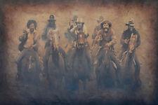 Fine Art Giclee, 20 x 30, earth tones, western art, by Rob Stern, Whitefish, MT