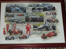 Silverstone by Graham Bosworth  Print ( Framed )