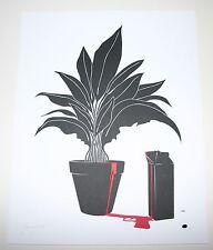 Bruce Yan Leon & Mathilda Print Poster The Professional Letterpress S/N x/35