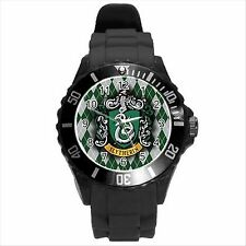 NEW* HOT HARRY POTTER SLYTHERIN HOGWARTS SCHOOL Unisex Round Sport Watch Gift