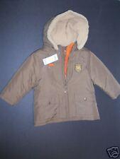 NWT Gymboree 2T Woodland Trails 3 in 1 Brown Fox Coat Orange Fleece Jacket