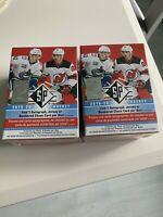 2019-20 NHL Upper Deck SP Hockey Blaster Box - Lot of 2! Factory Sealed!
