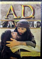 A.D. The Trials & Triumph of the Early Church 6 Hour Edition 2 DVDs Christian