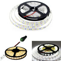 5050 LED STRIP LIGHTS COOL WARM WHITE COLOUR TAPE UNDER CABINET KITCHEN LIGHTING