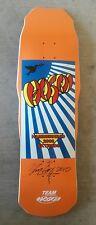 Rare Christian Hosoi Hammerhead skateboard SIGNED Tony Alva hawk nos natas