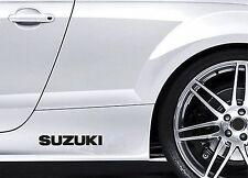 2x Side Skirt Stickers fits Suzuki Alto Swift Car Graphics Premium Decals BL98