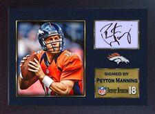 Peyton Manning Denver Broncos Nfl signed autograph American Football Framed