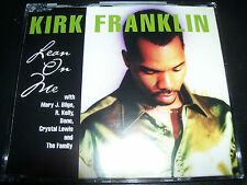 Kirk Franklin Lean On Me (Mary J Blige Bono U2) Australian CD Single