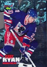 1995 Classic Hockey Draft Ice Breakers Die Cuts #8 Terry Ryan