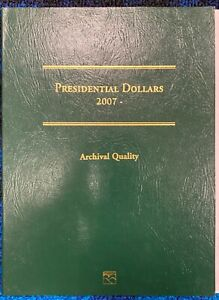 Littleton Coin Folder LCF35 Presidential Dollar 2007 - with 17 Coins Included