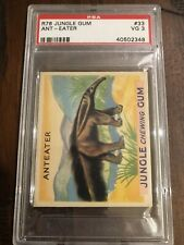 1933 Goudey R78 Jungle Gum #33 Ant-Eater Psa 3