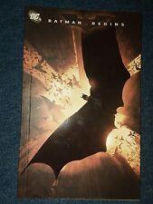 Batman Begins RARE MINI TPB (2005 Special DVD Issue) #1-1ST VF LOT RUN SET MOVIE