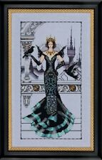"""SALE! COMPLETE XSTITCH KIT """"THE RAVEN QUEEN MD139"""" by Mirabilia"""