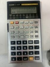 Vintage Casio Fx 5000 F Scientific Calculator In Case Tested New Batteries!