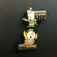 DS - Duos - Cogsworth and Lumiere 2 Pin Set Disney Pin 132560