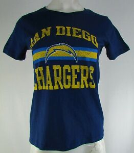 San Diego Chargers NFL Juniors Navy Blue Short Sleeve Shirt