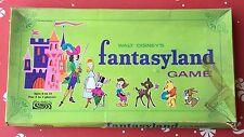 Walt Disney Fantasyland Board Game 1970s