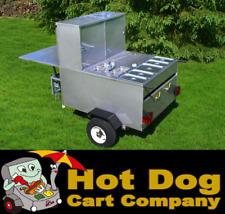 Hot Dog Cart Vending Concession Trailer Stand New Gladiator Hot Dog Cart Model