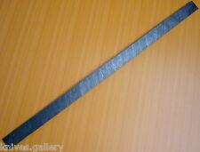 "CUSTOM DAMASCUS STEEL BILLET / HUNTING KNIFE / DAGGER / SWORD / BLANK BLADE 25"""