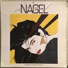 "Patrick Nagel Calendar 1992 Art Prints Large 15""x15"""