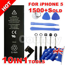 AU HQ For Apple iPhone 5 Replacement Battery 5G 1440mAh Tools Kit Screwdrivers