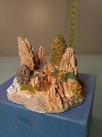 Odyssey design Oriental rockery figurine # 654 made in UK discontinued