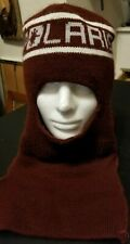 New listing Vintage Polaris Burgundy Knit Face Mask Winter Hat Neck Racing Snowmobile Adult