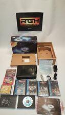 SEGA CD USA MEGA CD 8 GAMES BOXED BUNDLE PLUS BACK UP RAM, SONIC CD, SHERLOCK