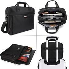 """Messenger Briefcase Carrying Shoulder Bag Handbag Sleeve Case for 15.6"""" Laptop"""