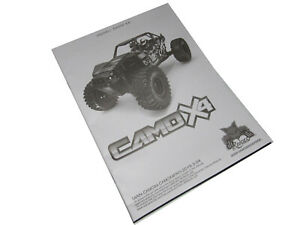 Redcat Camo X4  Pro 4x4 Owner Manual with Exploded Views